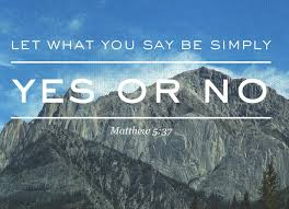 Matthew 5 yes or no