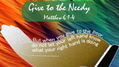 Matthew 6 hands