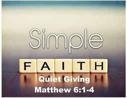 Matthew 6 simple