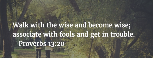 Proverbs 13 walk with wise