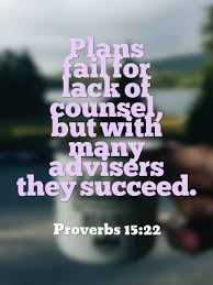 Proverbs 15 plans