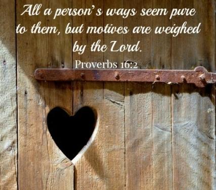 Proverbs 16 2