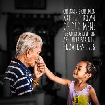 Proverbs 17 6 respect