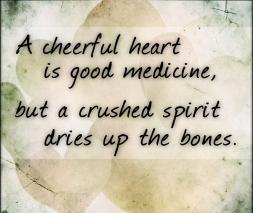 Proverbs 17 cheerful