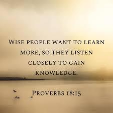 Proverbs 18 15