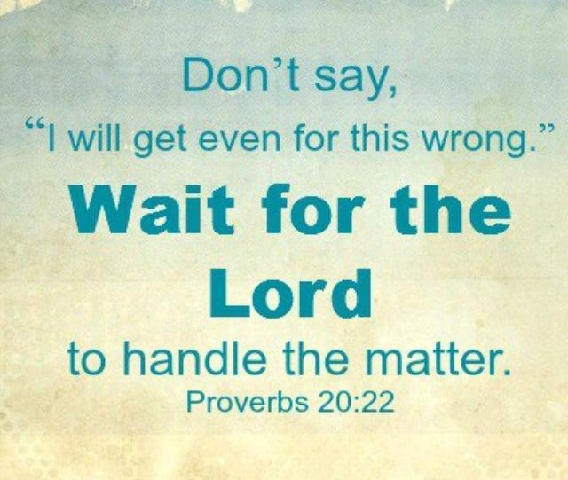 Proverbs 20 wait