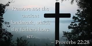 Proverbs 22 28