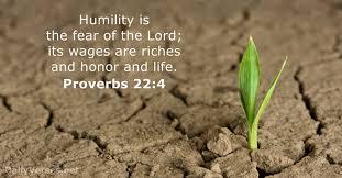 Proverbs 22 4