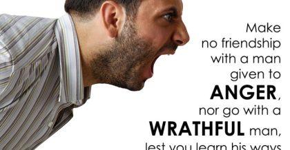 Proverbs 22 anger