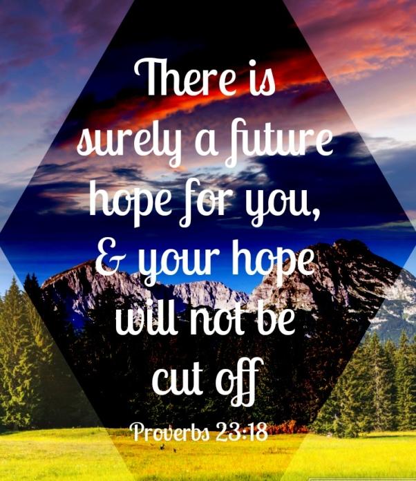 Proverbs 23 18 hope