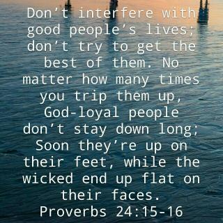Proverbs 24 15