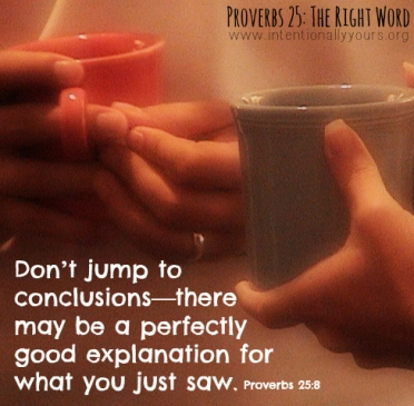 Proverbs 25 dont jump