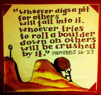 Proverbs 26 27