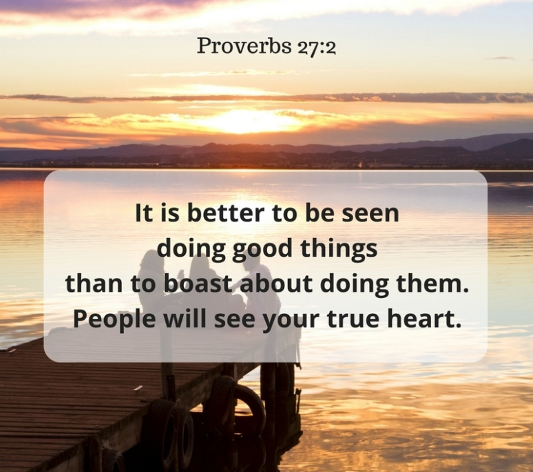 Proverbs 27 good