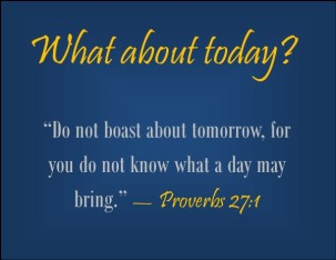 Proverbs 27 today