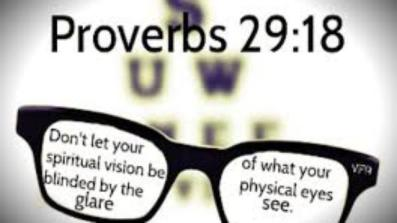 Proverbs 29 18 glare