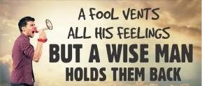 Proverbs 29 man anger