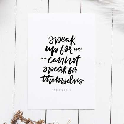 Proverbs 31 justice