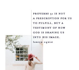 Proverbs 31 shape