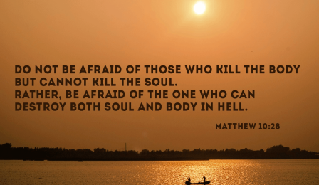 Matthew 10 fear who