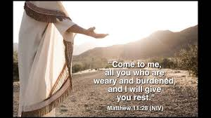 Matthew 11 come and rest