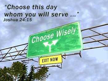 Matthew 12 choose wisely
