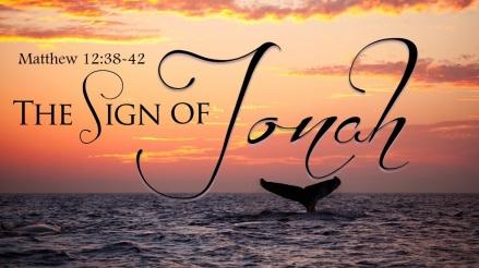 Matthew 12 Jonah