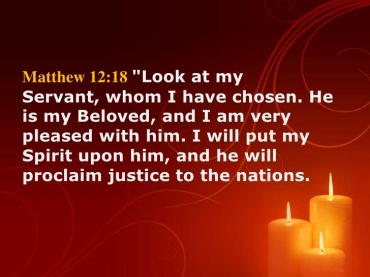 Matthew 12 justice