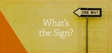 Matthew 12 sign