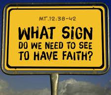Matthew 12 what sign