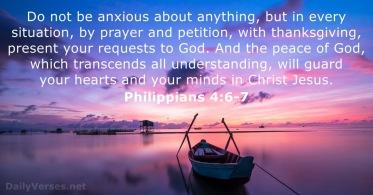 Matthew 14 anxious