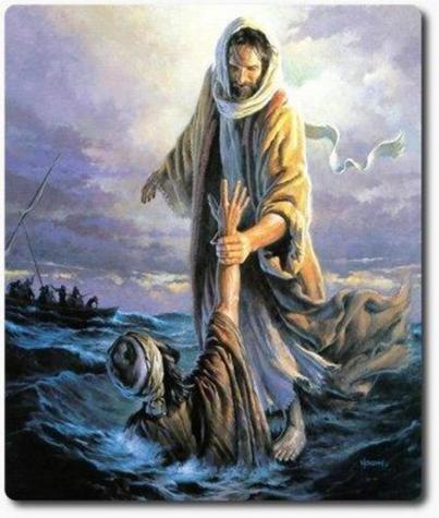 Matthew 14 take my hand