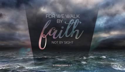 Matthew 14 walk by faith