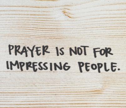 Matthew 6 impress