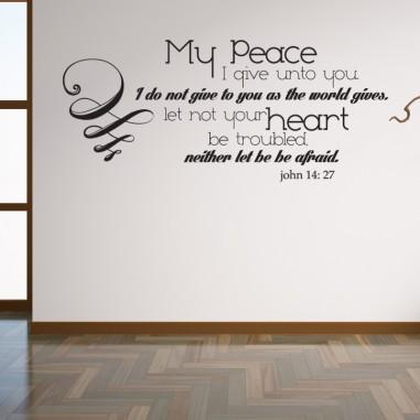 Matthew 6 pray for peace
