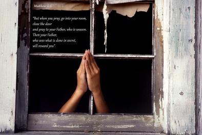 Matthew 6 prayer closet