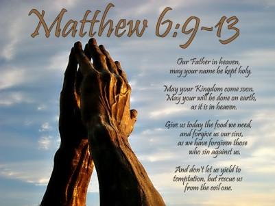 Matthew 6 prayer