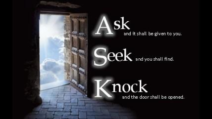 Matthew 7 doors to heaven open
