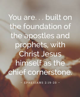 Matthew 7 Jesus as the cornerstone