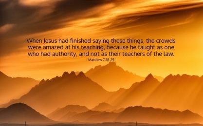 Matthew 7 Jesus