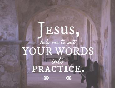 Matthew 7 Jesus help me