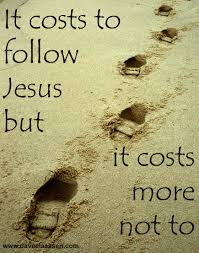 Matthew 8 costs more not to
