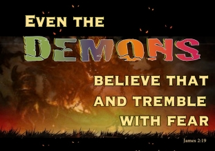 Matthew 8 demons know