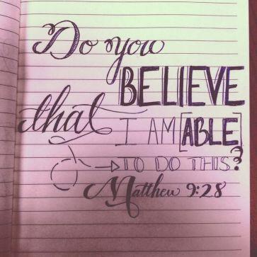 Matthew 9 able