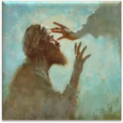 Matthew 9 blind to see