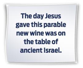 Matthew 9 new wine 2