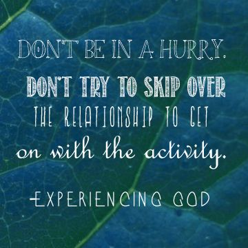 Matthew 9 relationship