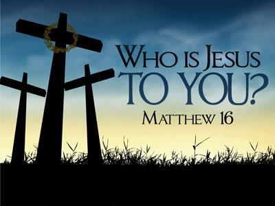 Matthew 16 who to you