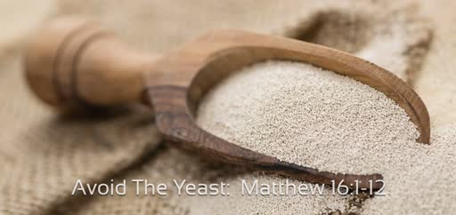 Matthew 16 yeast rising