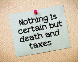 Matthew 17 death and taxes